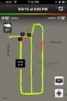 My evening run on September 9, 2013.