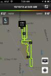 Running route on Thursday morning October 10, 2013.