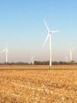 Wind Farm in Indiana.