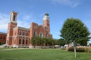 Greensburg Courthouse Tree. Photo taken on August 1, 2015.