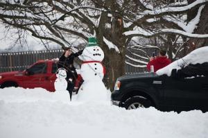Snowmen ... winter of 2015