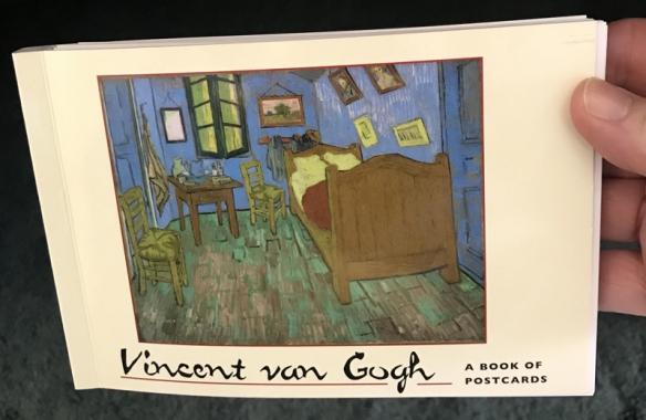 Postcard book of Vicent Van Gogh paintings